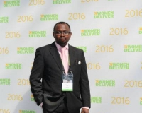 Mr Samuel Alli, founding Director, Afroscandic, at Women Deliver Conference 2016