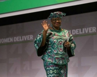 Mrs. Ngozi Okonjo-Iweala, former Finance Minister of Nigeria, during Women Deliver Conference 2016