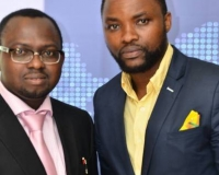 Mr. Samuel Alli, Publisher Afroscandic and Mr. Eric