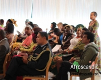 Audience during the 2015 Africa Day Sweden