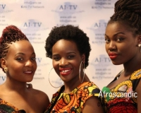 Members of African Fashion week Sweden