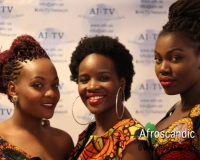 Members of African Fashion show Sweden