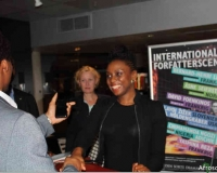 Chimamanda Ngozi Adichie discusses ith fans in denmark
