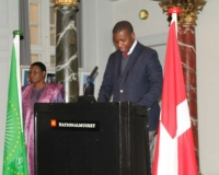 Justin Dhahi Koudou, first secretary, Embassy of Cote d'ivoire
