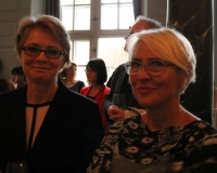 Director of Africa department UM, Birgitte Markussen and Danish Film Producer Vibeke Vindeløv