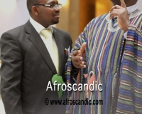 Mr Samuel Alli with Mr. Yakubu Alhassa, Charge d'affaires, Embassy of Ghana, Denmark