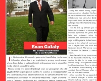 Enan Galaly, the most famous dishwasher in denmark