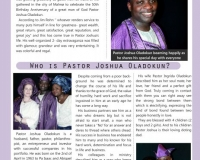 Pastor Joshua Oladokun Celebrates his 50th Birthday in Malmø, Sweden