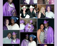 Friends & family members at Pastor Joshua Oladokun 50th Birthday
