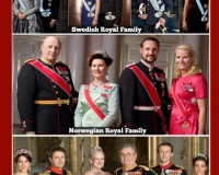 Some Scandinavian Royal families