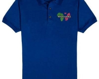 Afroscandic polo shirt