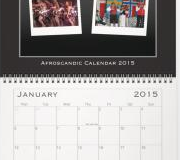 Afroscandic wall calendar 2015
