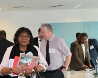 H.E Mrs Martine Françoise Adjouavi Dossa, Minister for Maritime Economy and Port Infrastructures