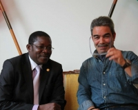 H.E Mr Nassirou Bako-Arifari, Minister of Foreign Affairs of Benin with Mr. Ben Belkhaoui, CEO, Tolkegruppen A/S