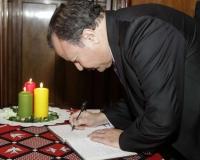 H.E. Ambassador Abdelhamid Boubazine, Embassy of Algeria, Denmark