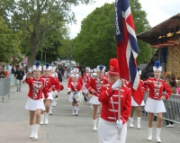 Swedish cultural group at Hammarkullen Carnival