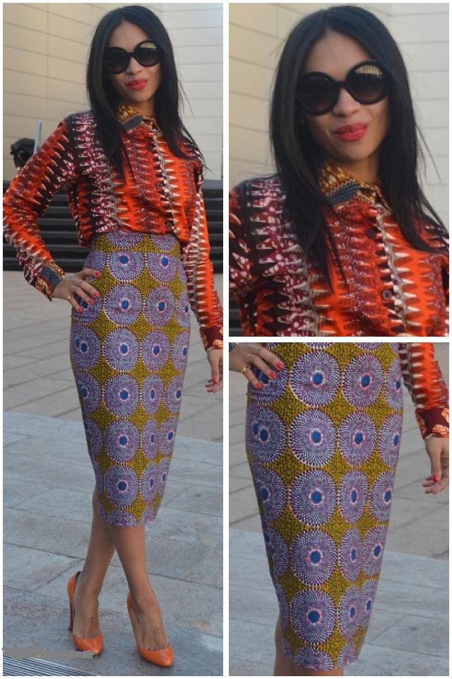 Leila Maingu African Print A Mix Of Designs