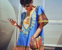 African clothe : dashiki from tanzania