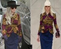 lady gaga in an african attire summer-2012