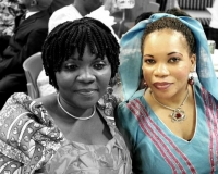 Deaconess Faith and Mrs Olayinka Agbelusi