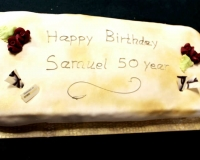 Deacon Samuel Oluware 50th birthday cake