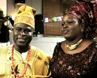 Samuel Oluware and his elder Sister, Mrs Kikelomo Ayoola