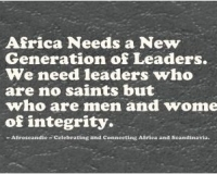 Africa Needs New Generation of Leaders