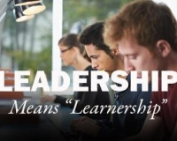 If leaders are learners