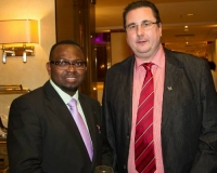 Mr. Michal Cienkowski and Mr. Samuel O. Alli, CEO, Afroscandic