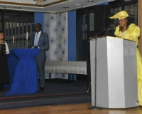 Ambassador Morina Muuondjo, Embassy of Namibia, Sweden
