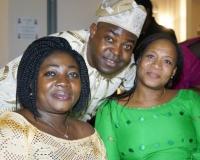 The President, Olupona Daniel Ayodeji & Mary Morrison