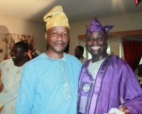 Pastor Olusegun Osho and Pastor Joshua