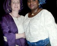 Pastor Ingrida Oladokun and Mrs Florence Oriretan