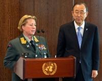 Major General Kristin Lund of Norway