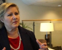 Norway's Prime Minister, Erna Solberg