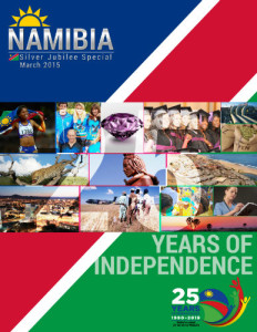 Customized Magazine, 2015 for Namibian Embassy in Sweden