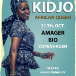 The African Pop Queen, ANGÉLIQUE KIDJO will be in Denmark on the 11th of October 2014