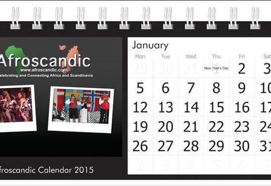 Afroscandic 2015 Calendar