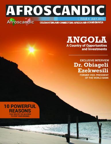 Angolan Embassy's magazine