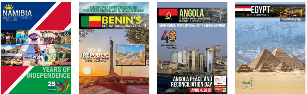 Customized magazines by Afroscandic