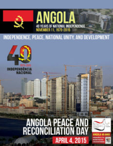 Magazine for Embassy of Angola in Sweden