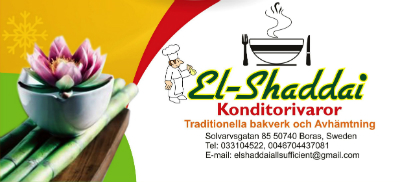 El-shaddai konditorivaror