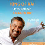 The King of Rai Music, Khaled, Will Perform Live and in Person in Copenhagen on the 31st of October, 2014.
