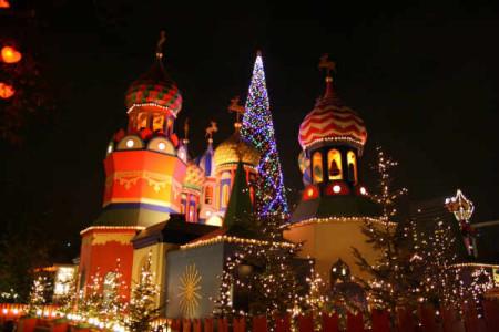 Christmas 2012 at Tivoli in copenhagen