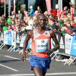 Wilson Kipsang Breaks the World Record in the London Marathon, 2014
