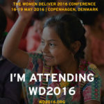 WOMEN DELIVER'S 4TH GLOBAL CONFERENCE HOLDS IN DENMARK 16TH TO 19TH MAY, 2016