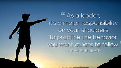 major responsibility of a good leader