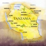 In 1964 the states of Tanganyika and Zanzibar united to form which modern African nation?